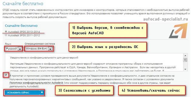 СПДС для AutoCAD. Скачать бесплатно